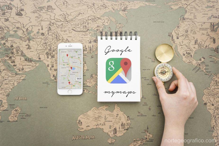 Planea tu viaje con Google Mymaps