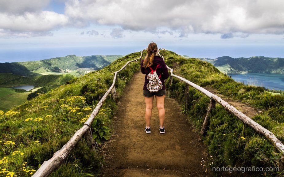 Azores, Sao Miguel. Día 5: Grota do Inferno, Lagoa Verde e Lago Azul, Sete Cidades y Punta Ferraria